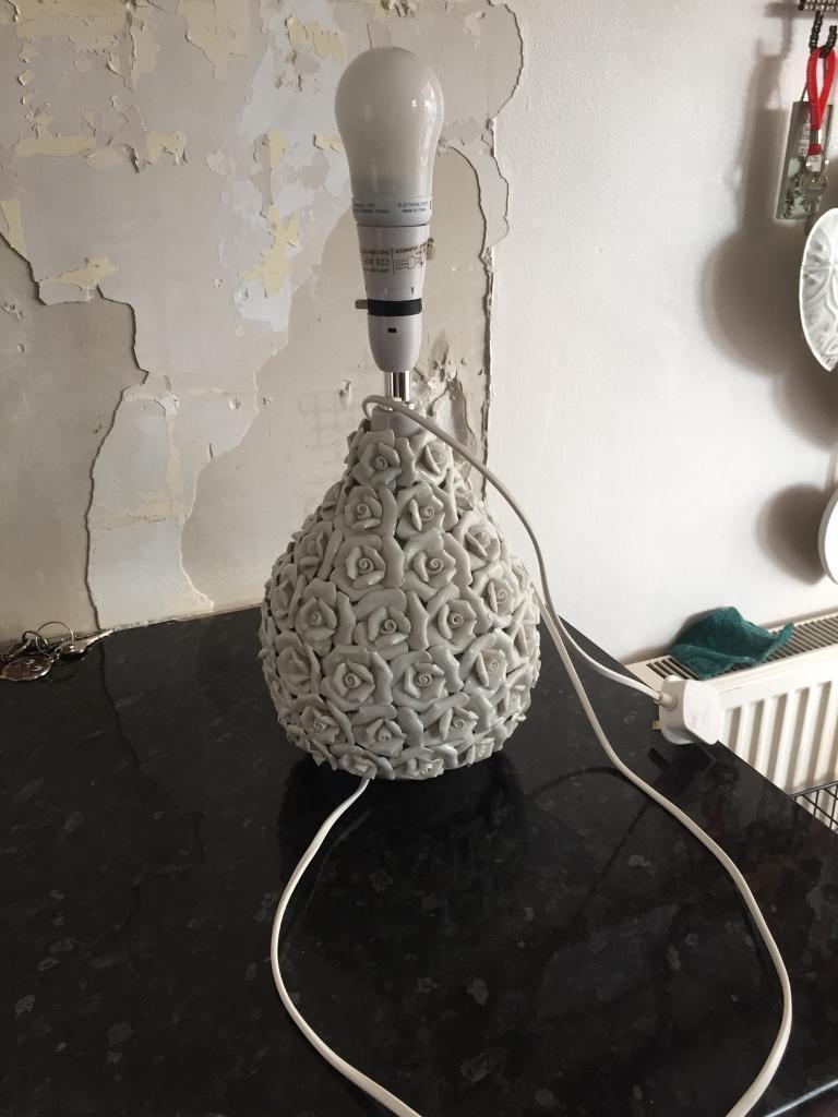 Lampshades and lamp base