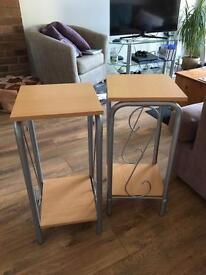 Lamp/telephone/side tables great condition