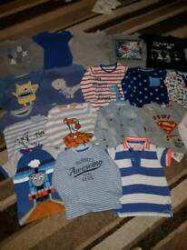 20 boys tops t shirts 12 18 Months