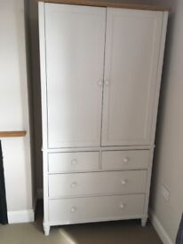 John Lewis 'Croft' Wardrobe. Purchased for £1000 in July 2016