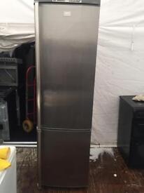 AEG stainless steel good looking frost free A-class fridge freezer