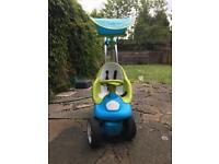 SMOBY bubble go ride