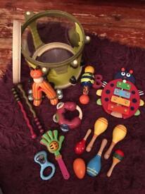 Parum Pum Pum Drum with many additional instruments.