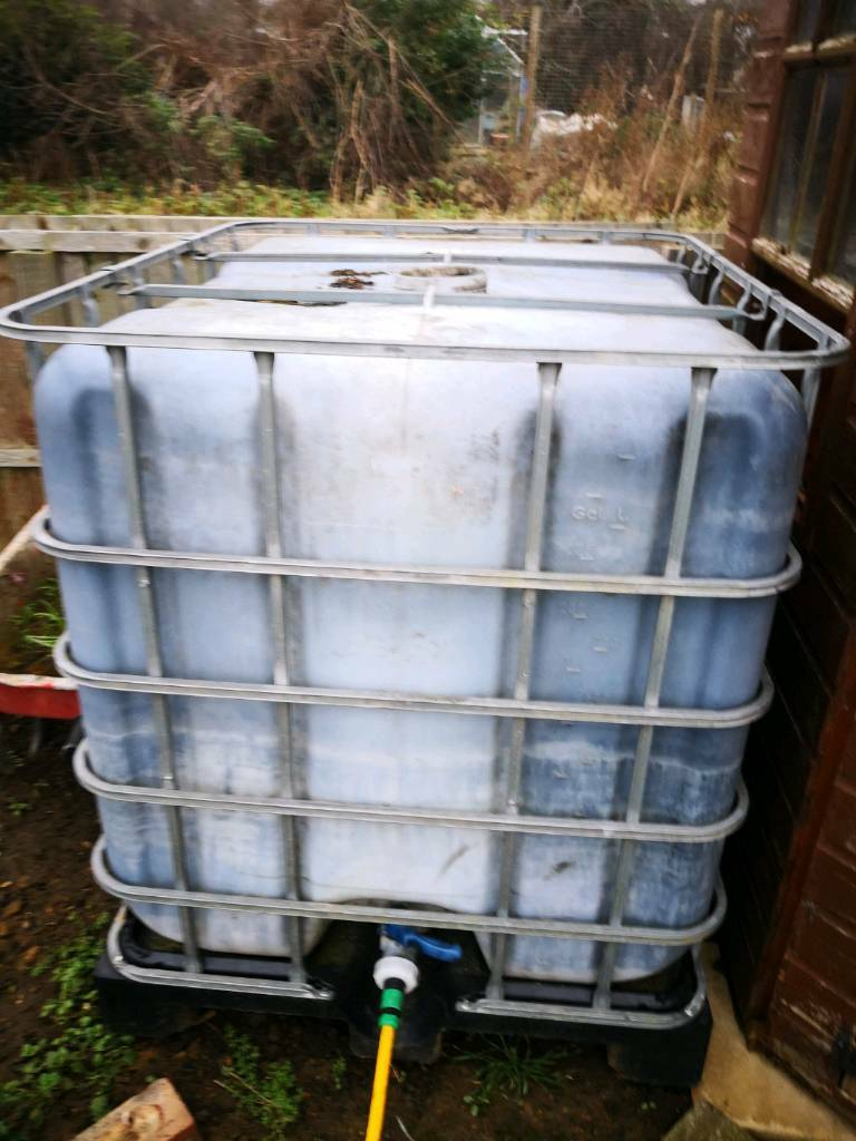 2x giant water tanks