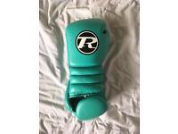 Ringside 16oz teal sparring gloves