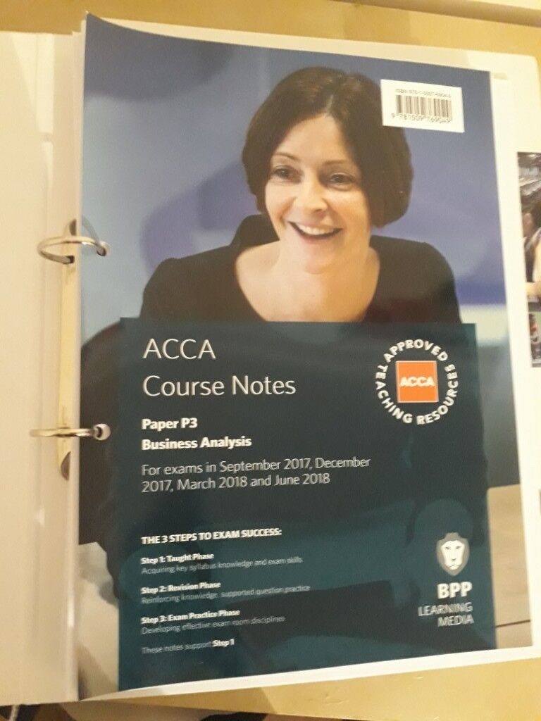 ACCA P3 Course Notes Business Analysis | in Kings Cross, London | Gumtree