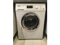 Miele WDA110 Freestanding Washing Machine, 7kg Load, A++ 1400rpm Spin, White. Excellent Condition.