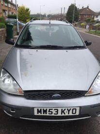 ford focus running perfectly £650 ono