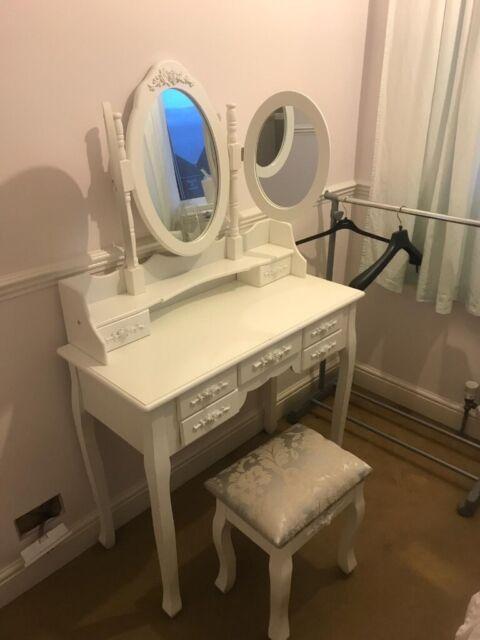 brand new cb9fe 2dae9 BNIB Wayfair Dressing Table and Stool - Cuyler Vanity - Shabby Chic   in  Kettering, Northamptonshire   Gumtree
