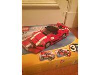 Lego creator red race car (5867)
