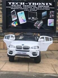 BMW X6, Parental Remote & Self Drive, Ride-On 12v
