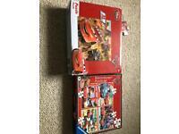Lightning McQueen game and jigsaws