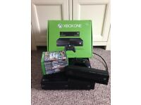 XBOX One + Kinect (+ 8 Games)