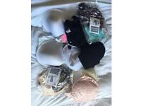 Ten 38D bras all brand new and from Simply Be