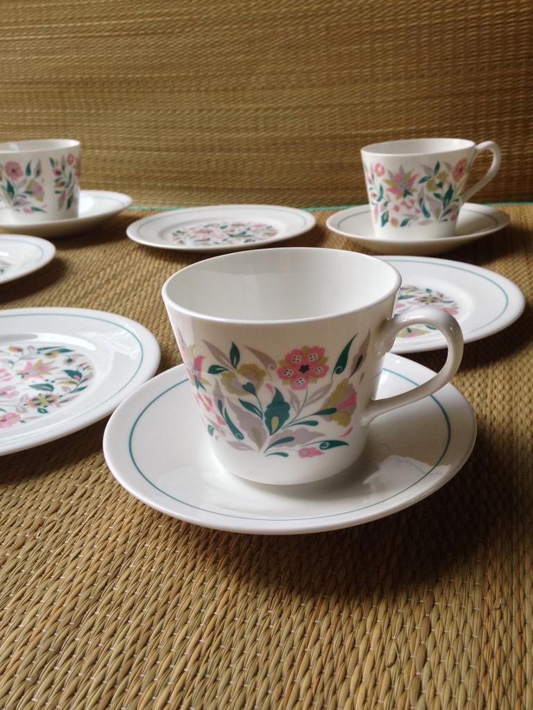 Vintage China Tea Set
