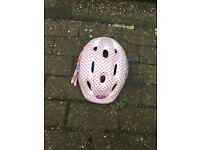 Girls Disney princess bike helmet used
