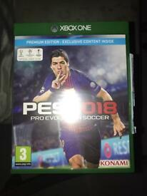 PRO EVOLUTION SOCCER 2017. XBOX ONE.