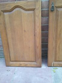 Kitchen cupboard doors Wooden 4 different sizes Suit repair or replace
