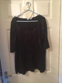 Dorothy Perkins sparkly maternity top