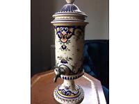 Unusual ceramic drink dispenser