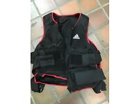 Adidas Weighted Vest - 10Kg adjustable