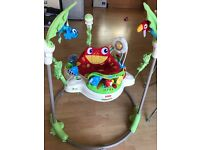 Fisher-Price Rainforest Jumperoo excellent condition