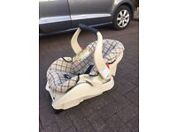 Grace isofix car baby carseat