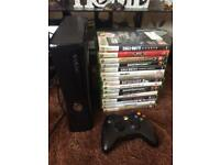 Xbox 360 slim and games
