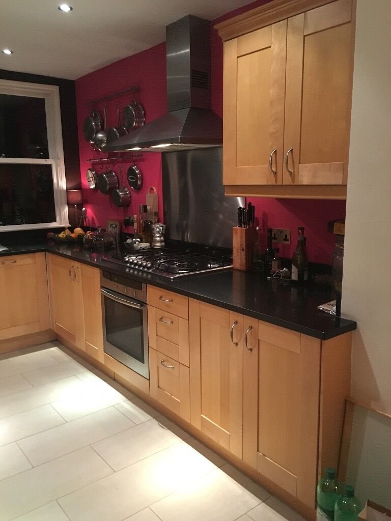 Fitted Kitchen Fitted Kitchen Cabinets Granite Worktops Fitted Sink Wide