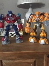 Large Transformer Figures x 2