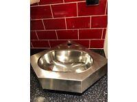 Stainless steel franke stainless steel corner basin