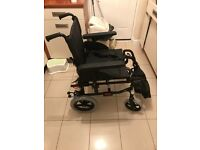 Invacare Action 2NG Lightweight Foldable transit wheelchair!