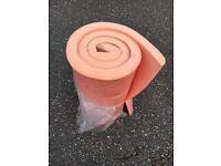 Foam single mattress toppers x 2 for sale.