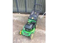 John Deere JX75 Self propelled lawn mower