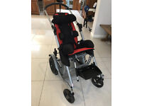 Activate Special Needs Buggy Pushchair Stroller with rain cover