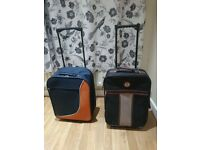 two travel suitcases bargain £15