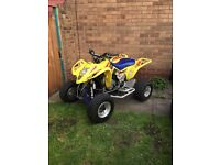 Suzuki ltz 400 Road legal quad