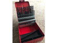 Dormer A190 No.12 Hss Drill Set 60p Metal Case
