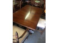 Stunning dining table and chairs