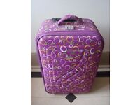 *** Colorful 2 Wheels Very Light Weight Suitcase ***