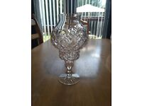 Tyrone Crystal Hurricane Lamp