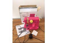 Sewing Machine John Lewis Mini Pink Faulty