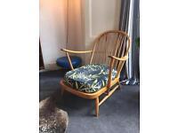 Ercol Windsor chair 1960's original
