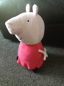 Peppa pig soft toys, some new, great Christmas present!