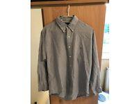 Ralph Lauren (L) Male grey shirt (freighted collar)