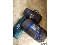 Hi Gear Kalahari 8 tent and groundsheet etc as new