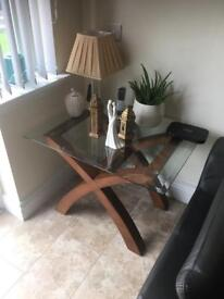 Great condition contemporary side table
