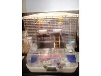 Vision budgie cage with extras