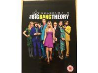 Big Bang Theory Box Set Season 1-10