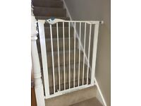 Lindam Easy Fit Plus Deluxe Tall Safety Gate x 2